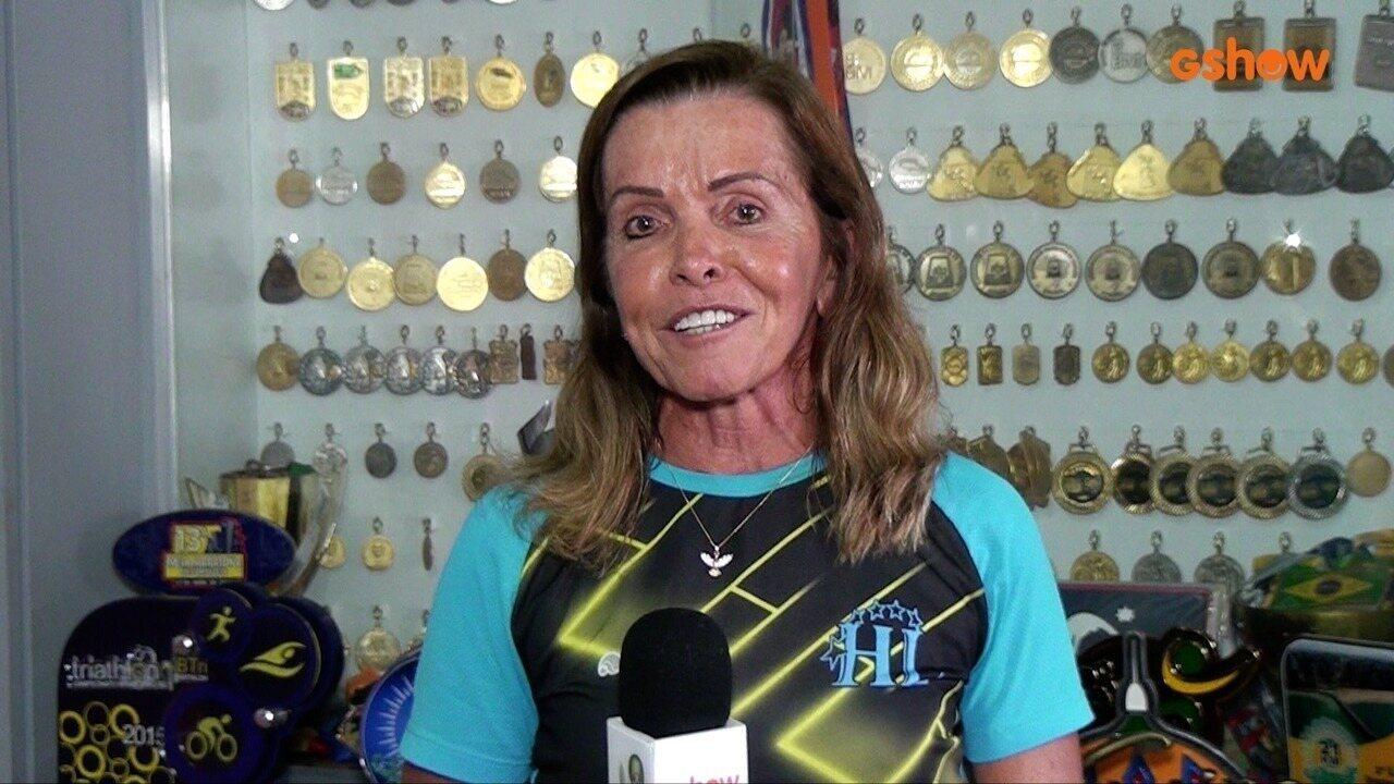 Hedla Lopes fala sobre carreira no esporte e participação no programa 'Tá Brincando'