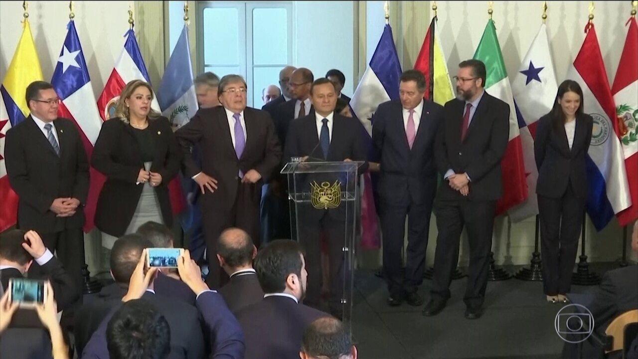 Brasil e mais 12 países não reconhecem novo mandato do presidente da Venezuela