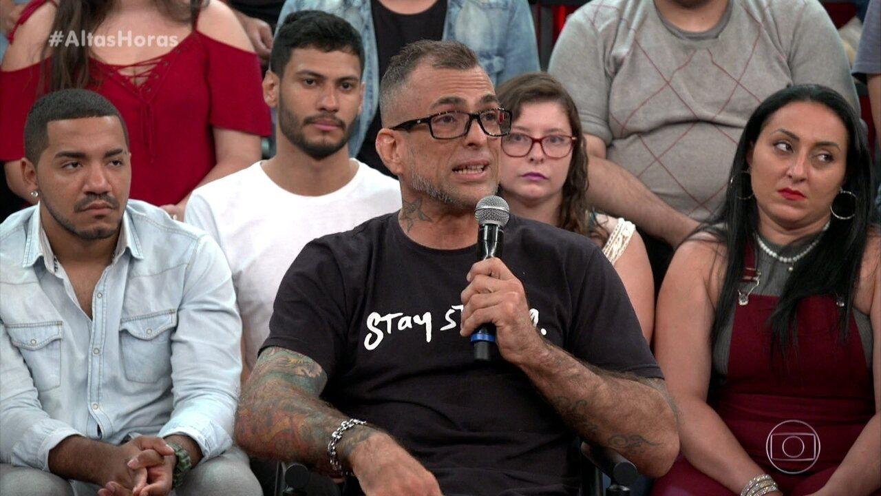 Marcelo Dourado diz que não conseguiu mostrar quem era no 'BBB'