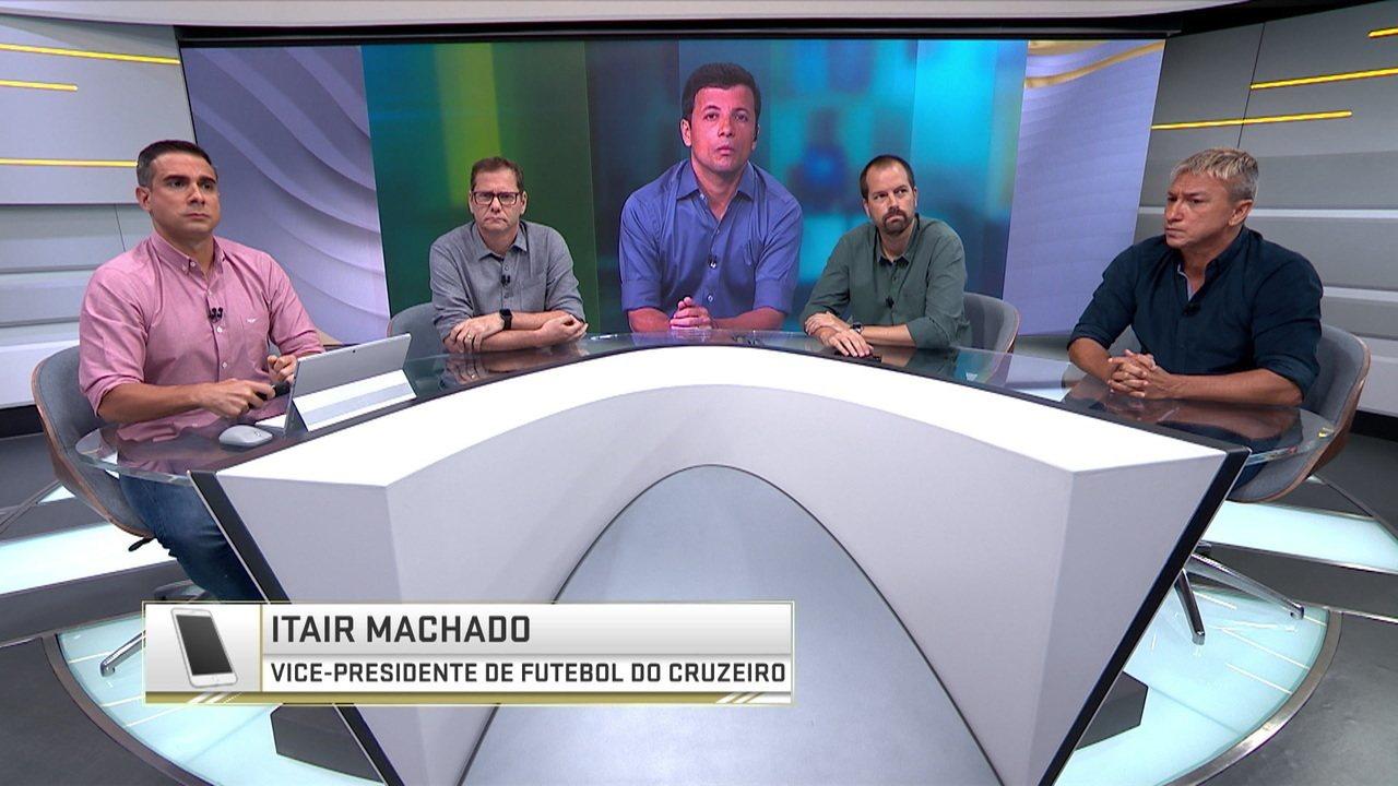 Vice de futebol do Cruzeiro explica caso Arrascaeta