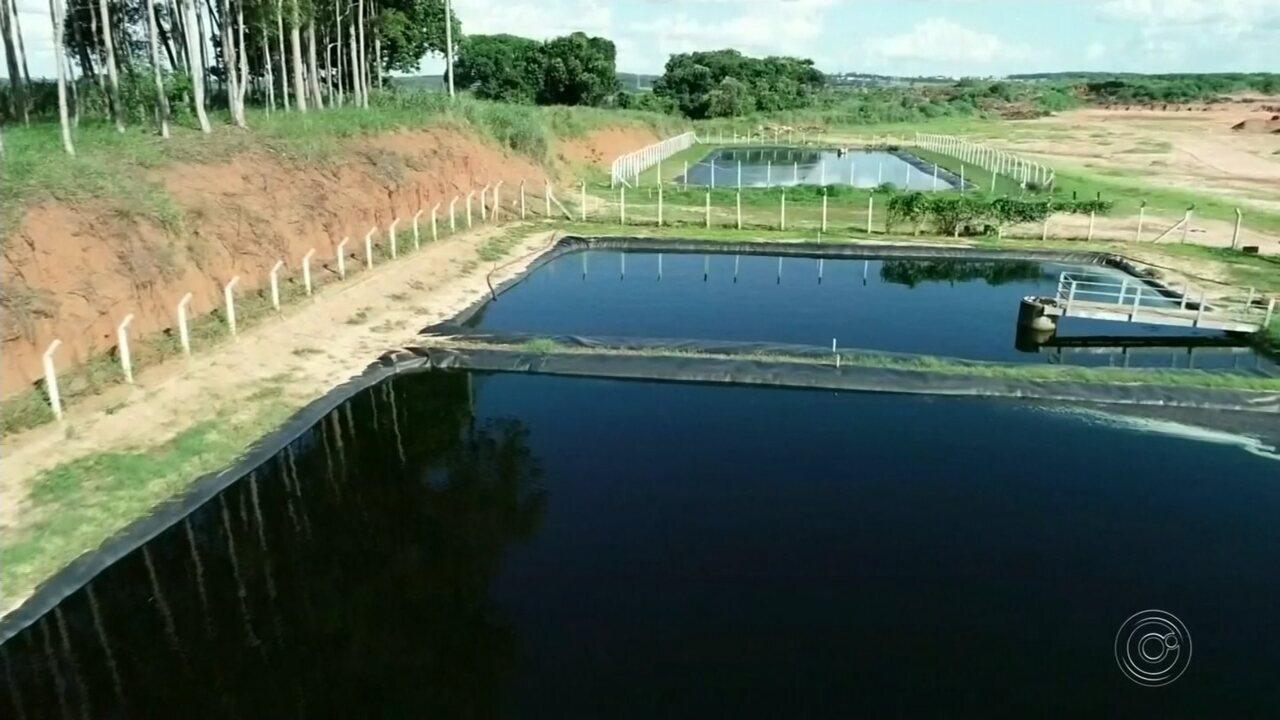 Chuva vira ameaça de contaminação do solo no aterro sanitário de Bauru