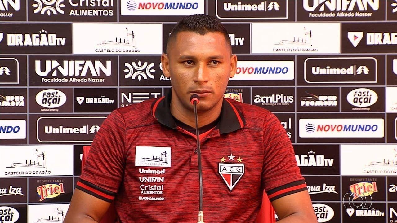 Volante Pedro Bambu fala sobre expectativas no Atlético-GO