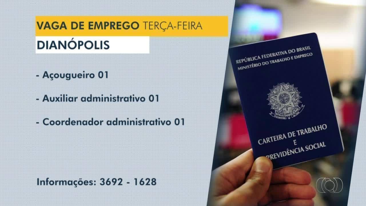 Veja vagas de emprego para Dianópolis, Guaraí e Araguatins