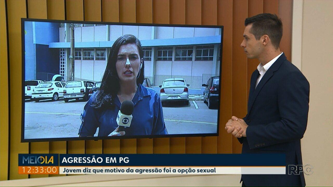 Jovem é agredido em Ponta Grossa e diz ser vítima de homofobia