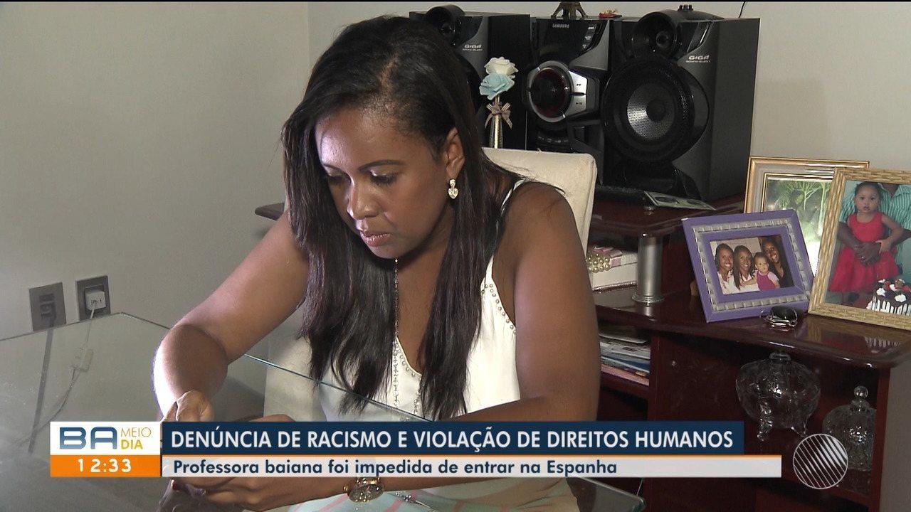 Professora baiana é deportada após ser impedida de entrar na Espanha