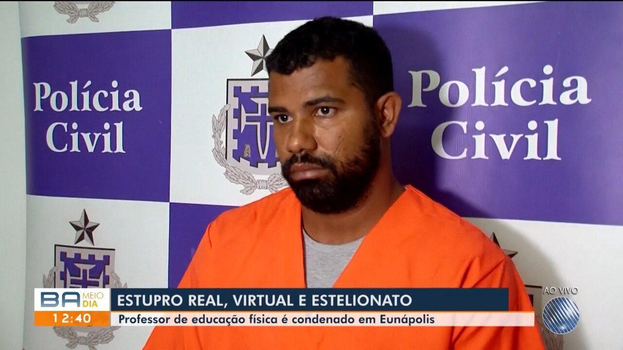 Professor de educação física é preso acusado de estupro e estelionato em Eunápolis