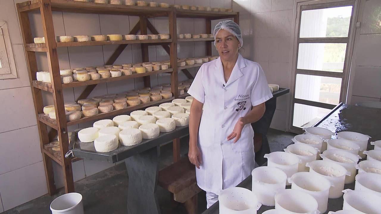 Reveja: Fazenda produz queijo em Conceição do Mato Dentro