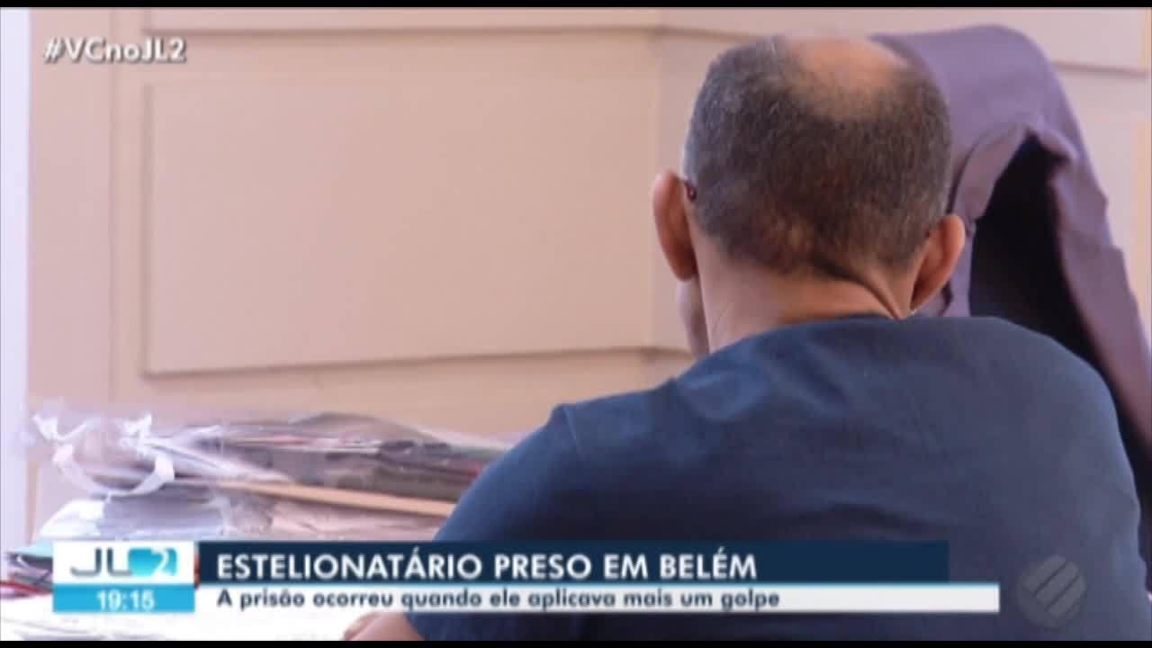 Polícia prende suspeito de envolvimento em estelionato em Belém
