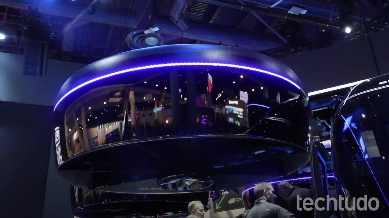 Carro voador é destaque na CES 2019