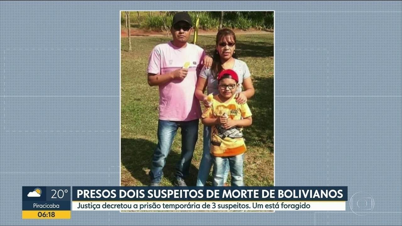 Justiça decreta prisão de suspeitos de matar família de bolivianos em Itaquaquecetuba