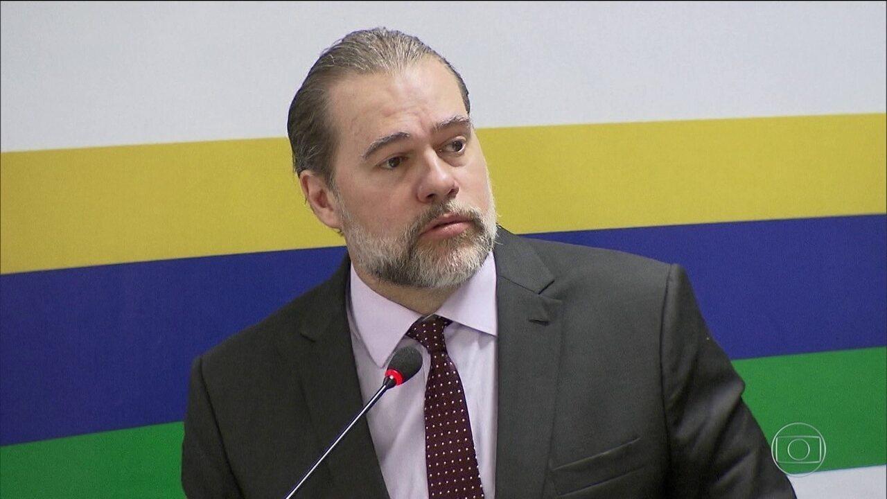 Toffoli decide que eleição no Senado será secreta