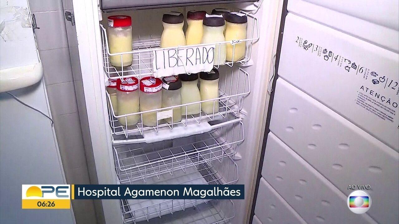 Bancos de leite materno pedem doações