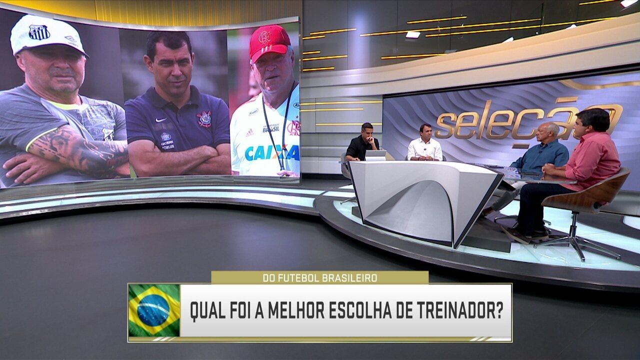 Abel Braga, Carille ou Sampaoli? Comentaristas analisam melhor escolha de treinador