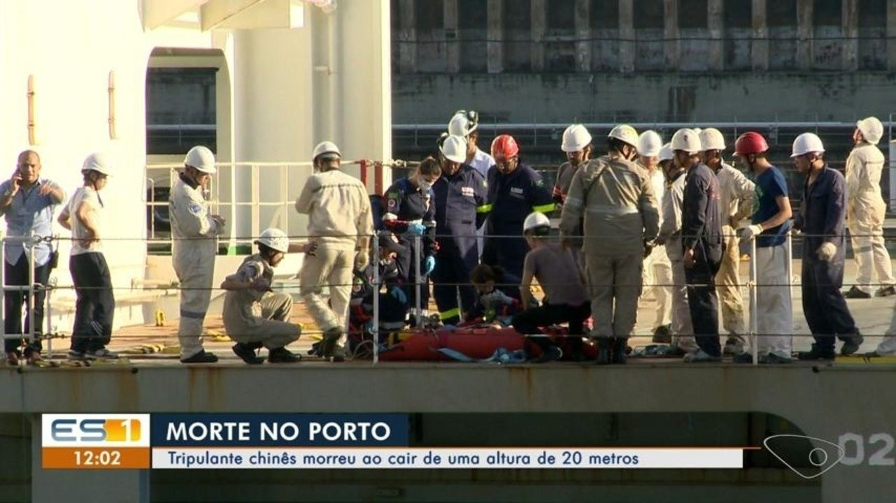 Tripulante morre em navio atracado no Porto de Vitória, diz Codesa