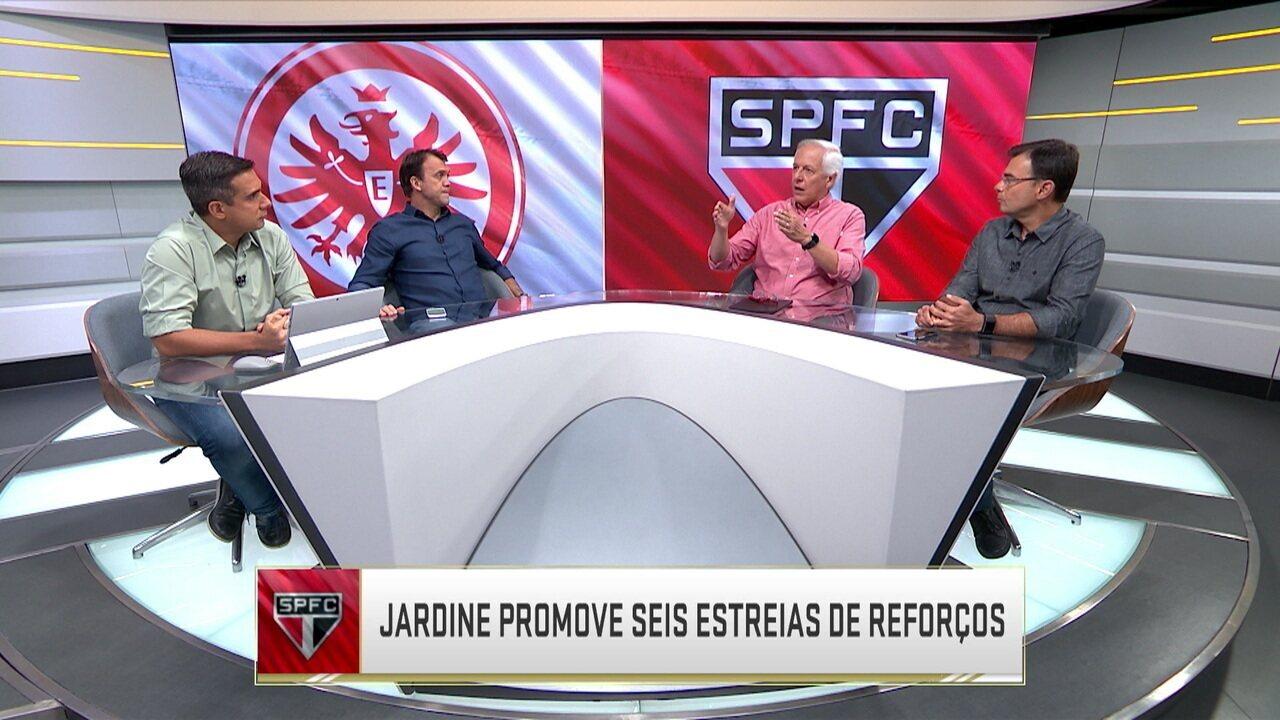 São Paulo estreia no Torneio da Flórida com derrota mas técnico Jardine já demonstra mudanças no esquema tático