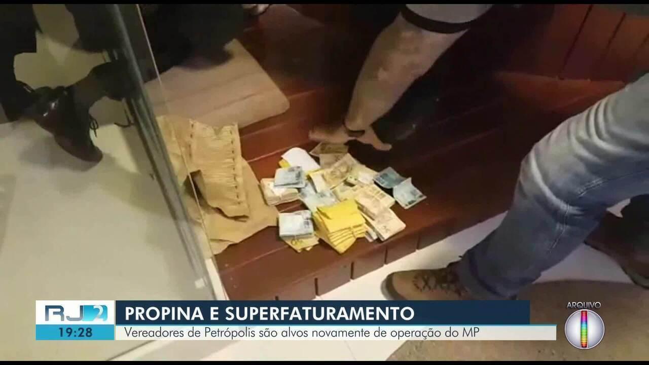 Vereadores de Petrópolis, RJ, são alvos novamente de operação do MP