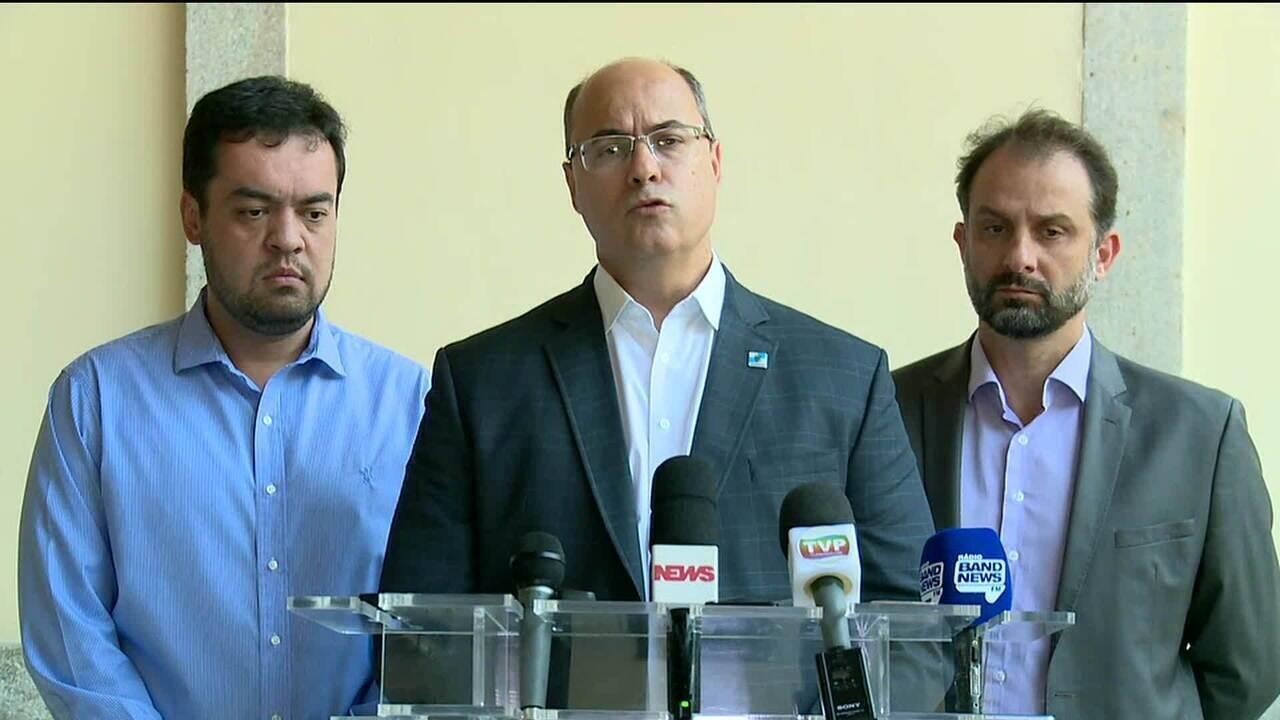 Governador do Rio e secretários debatem medidas de ajuste fiscal