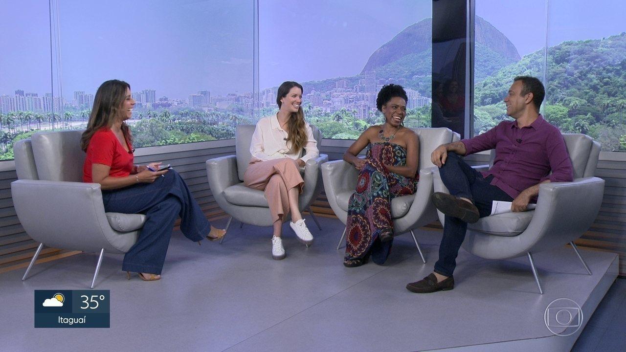 Nathalia Dill e Vilma Melo estão no elenco da peça 'Fulaninha e Dona Coisa'
