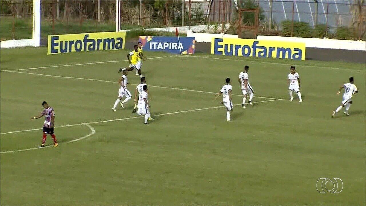 Trindade avança à terceira fase da Copinha; Goiás joga neste sábado