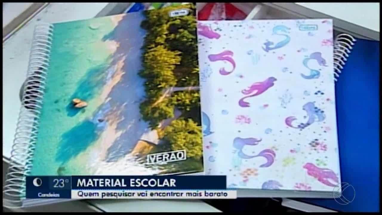 Pesquisa aponta variação de até 523% no preço do material escolar em Araxá