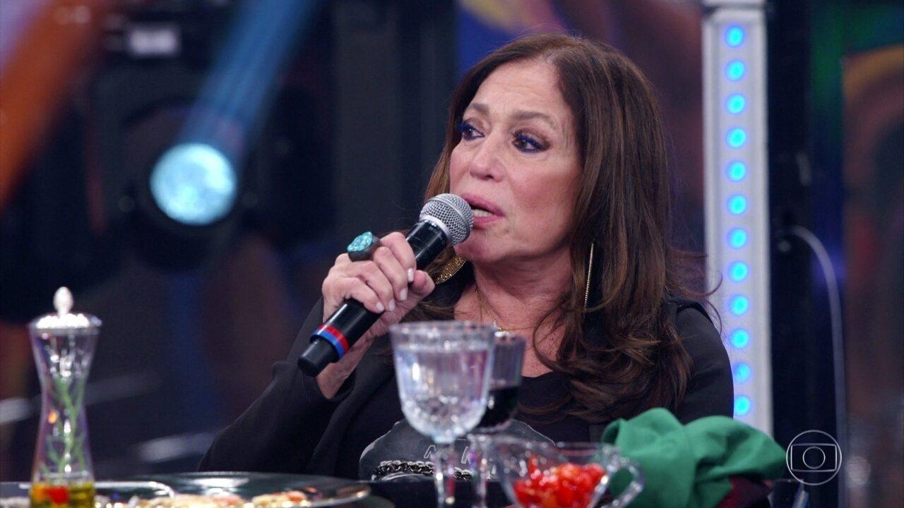 Susana Vieira fala sobre importância do 'Domingão' e revela curiosidades dos bastidores