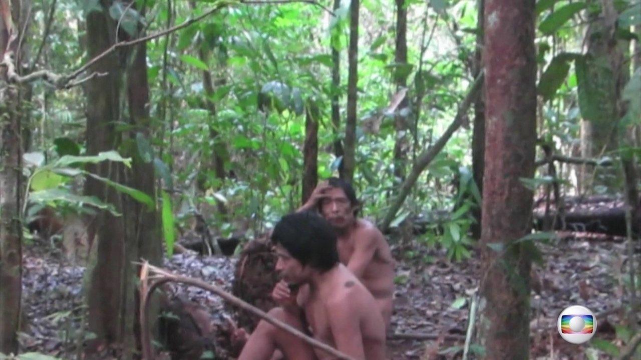 Brasil ainda tem populações indígenas que vivem totalmente isoladas