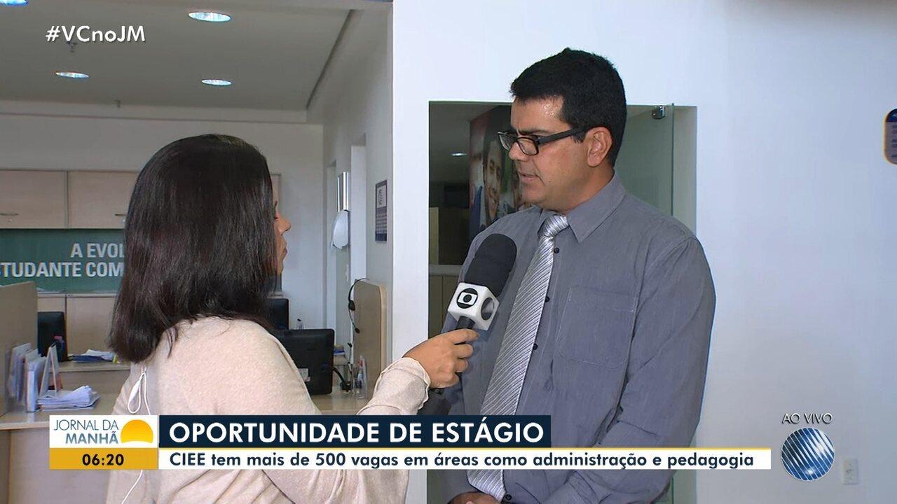 Oportunidade: CIEE oferece mais de 500 vagas para estagiários e jovens aprendizes