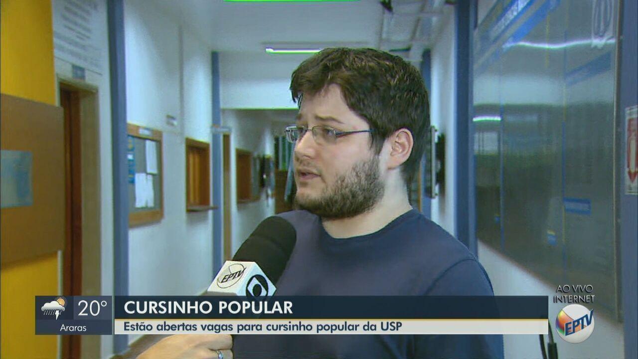Cursinho popular da USP está com inscrições abertas em São Carlos
