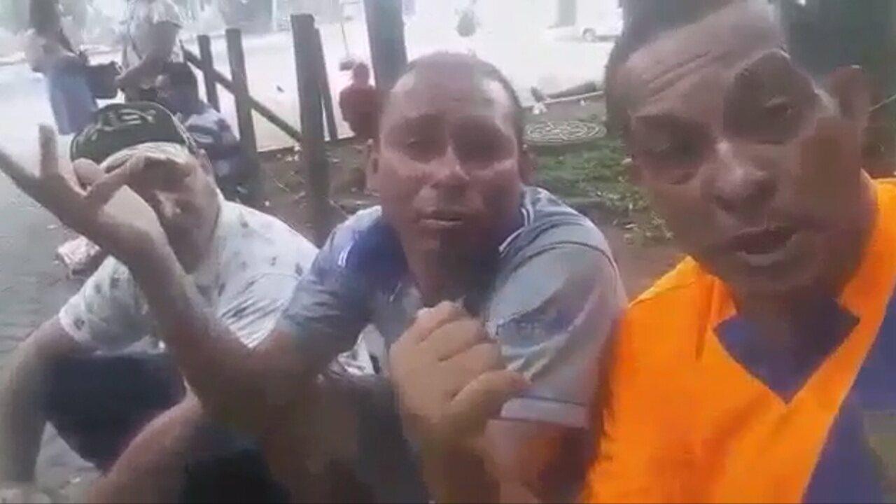 Debaixo de viaduto em São Paulo, Valdiram pede ajuda a ex-companheiros de Vasco