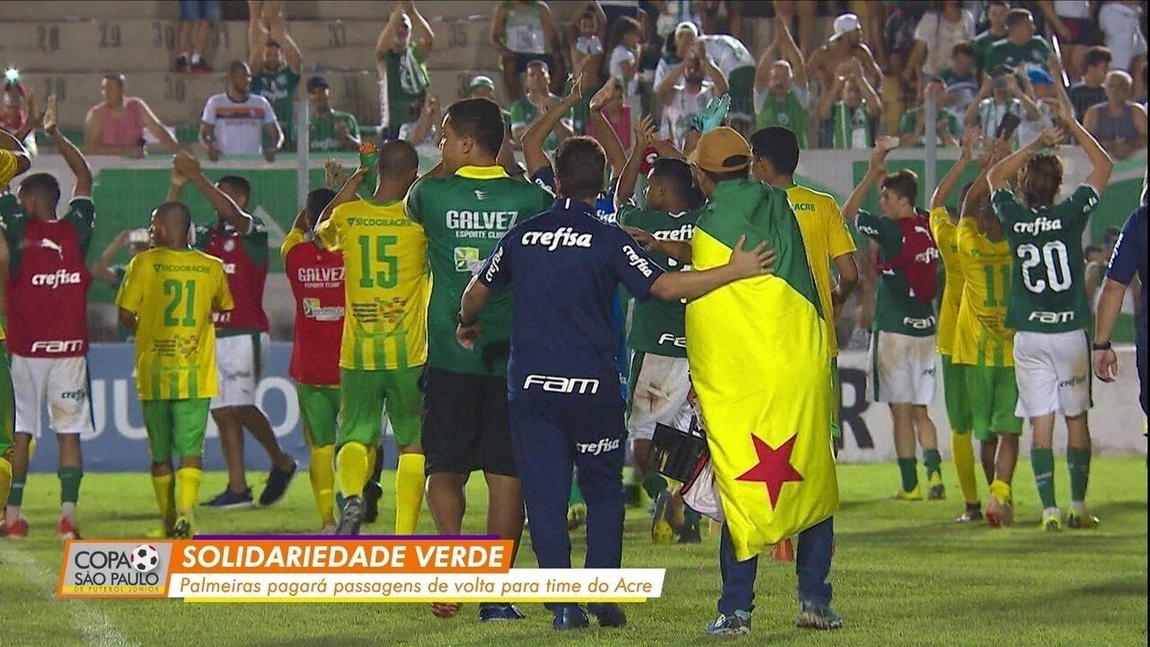 Palmeiras pagará a volta do Galvez ao Acre