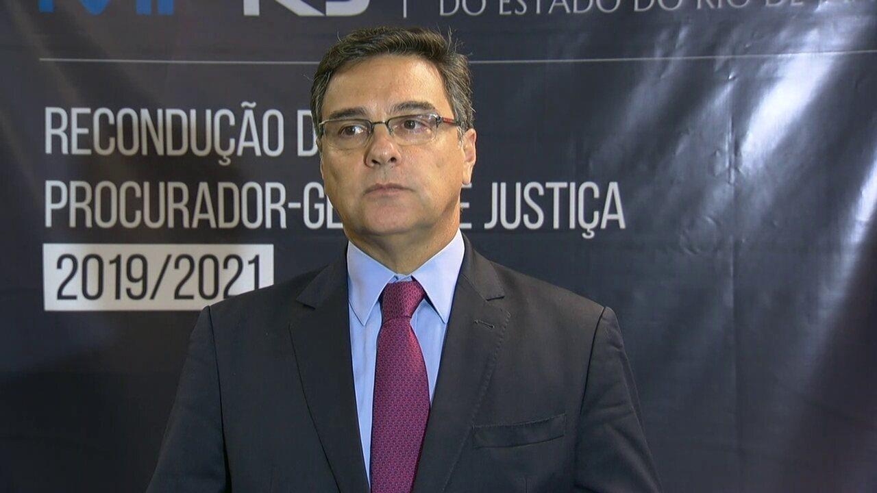 Procurador-geral de Justiça do Rio fala sobre investigação do Coaf sobre Queiroz