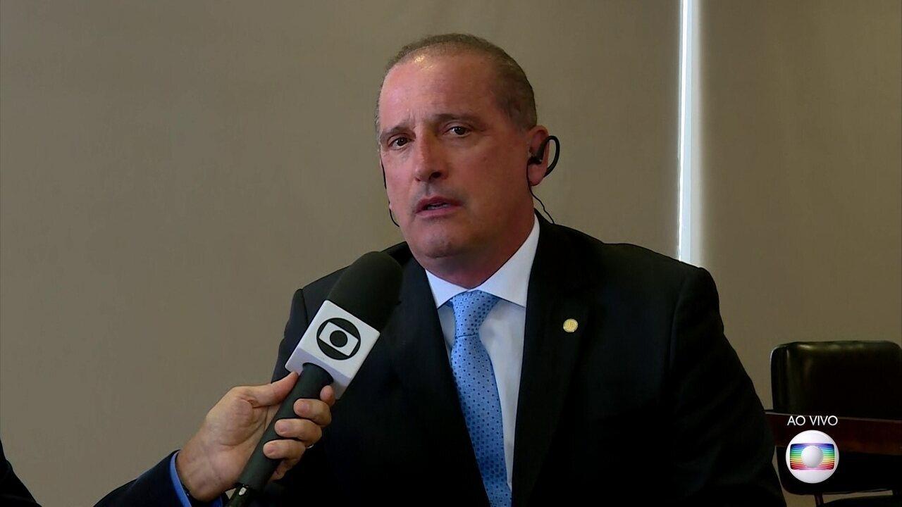 Onyx Lorenzoni confirma que decreto de flexibilização de armas vale para todo o Brasil