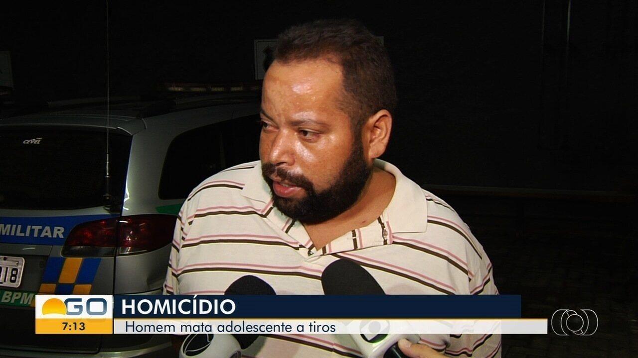 Homem é preso suspeito de matar namorado da filha a tiros em Goiânia