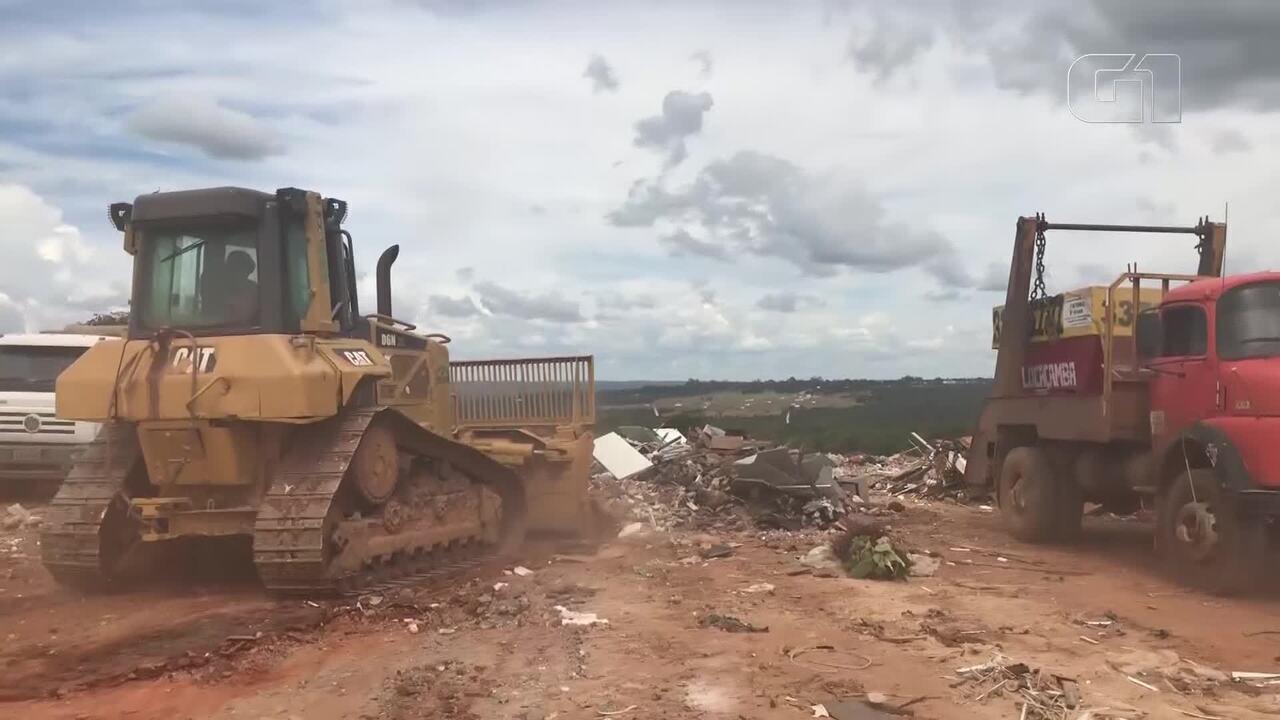 Veja como está o Lixão da Estrutural após um ano fechado para resíduos domésticos