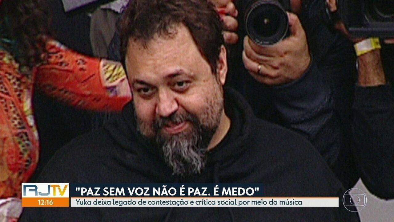 Marcelo Yuka deixa legado de contestação e crítica social por meio da música