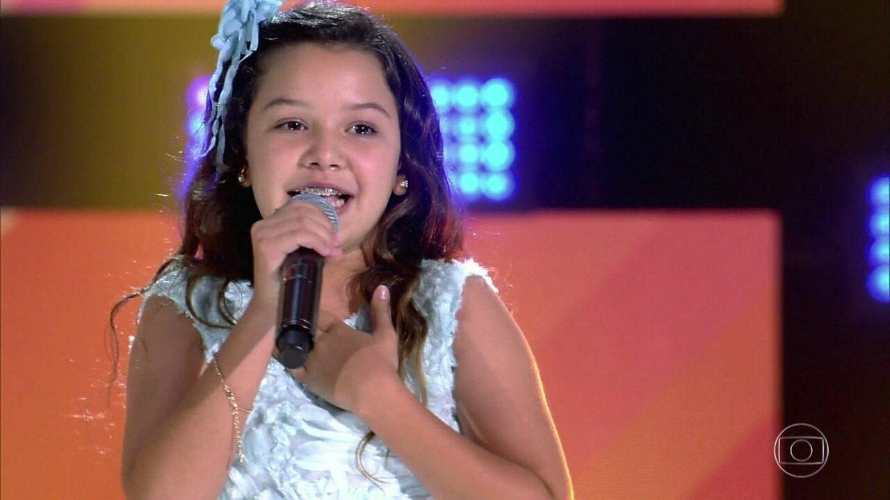 """Helô Wanderley canta """"O Carimbador Maluco"""" no The Voice Kids de 20/01 de 2019"""