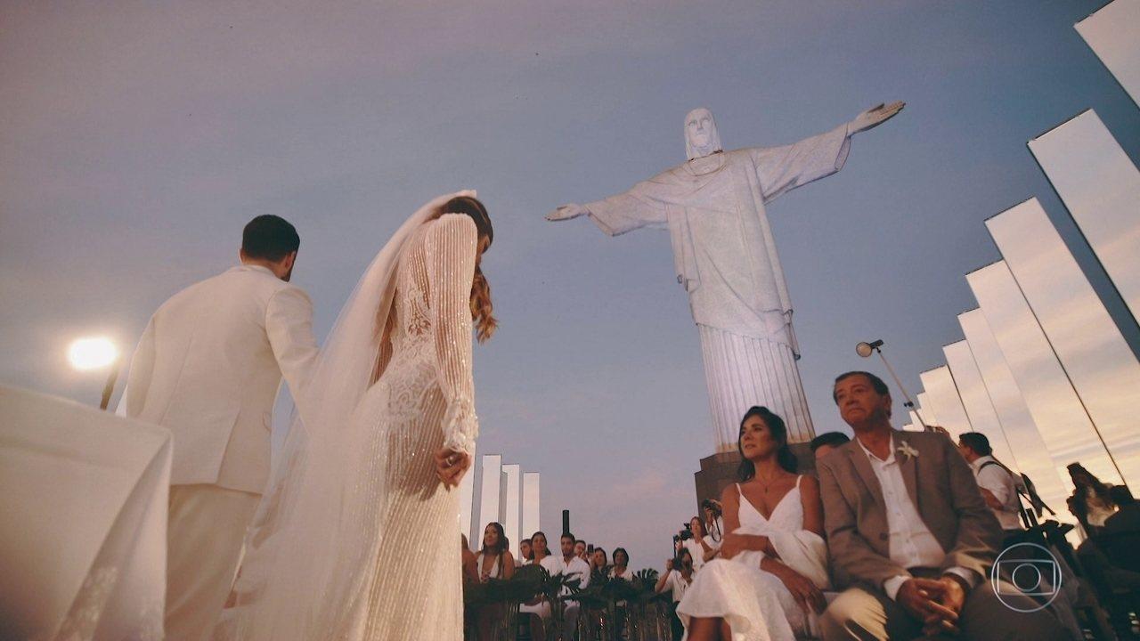 Alok conta por que escolheu o amanhecer no Cristo Redentor como cenário de seu casamento