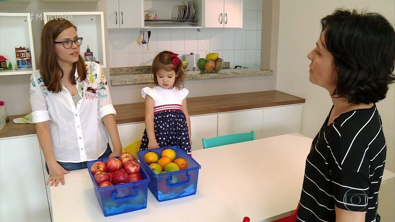 Ana Maria Braga mostra dicas para conservar melhor alimentos na geladeira