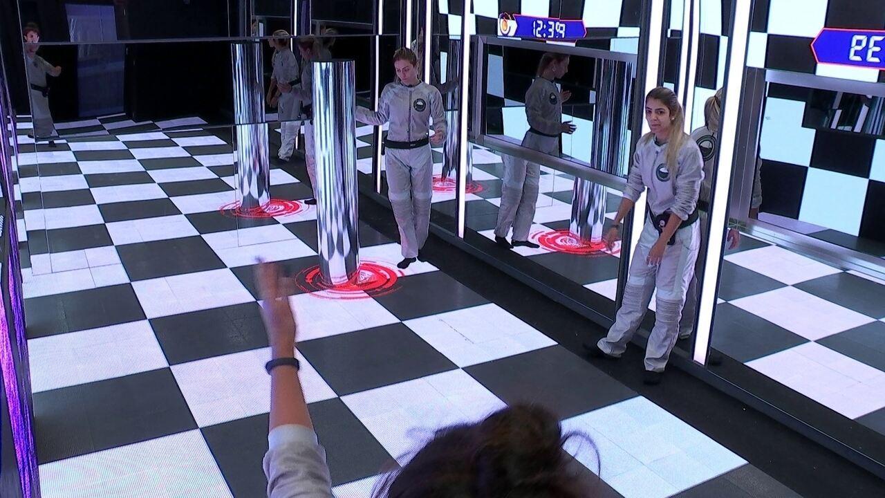 Hana compartilha estratégia com Hariany e Paula para terminarem sexto desafio mais rápido