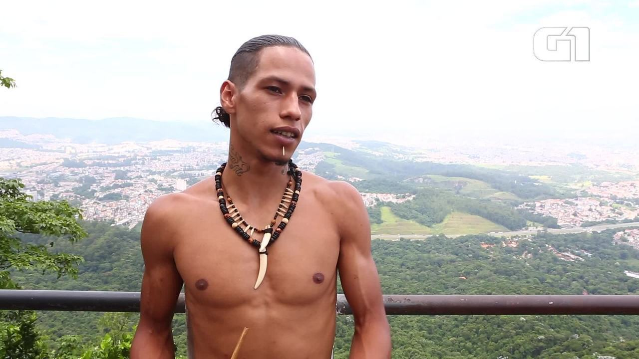 Jovens índios da Zona Norte de SP cantam rap em tupi-guarani para defender causa indígena