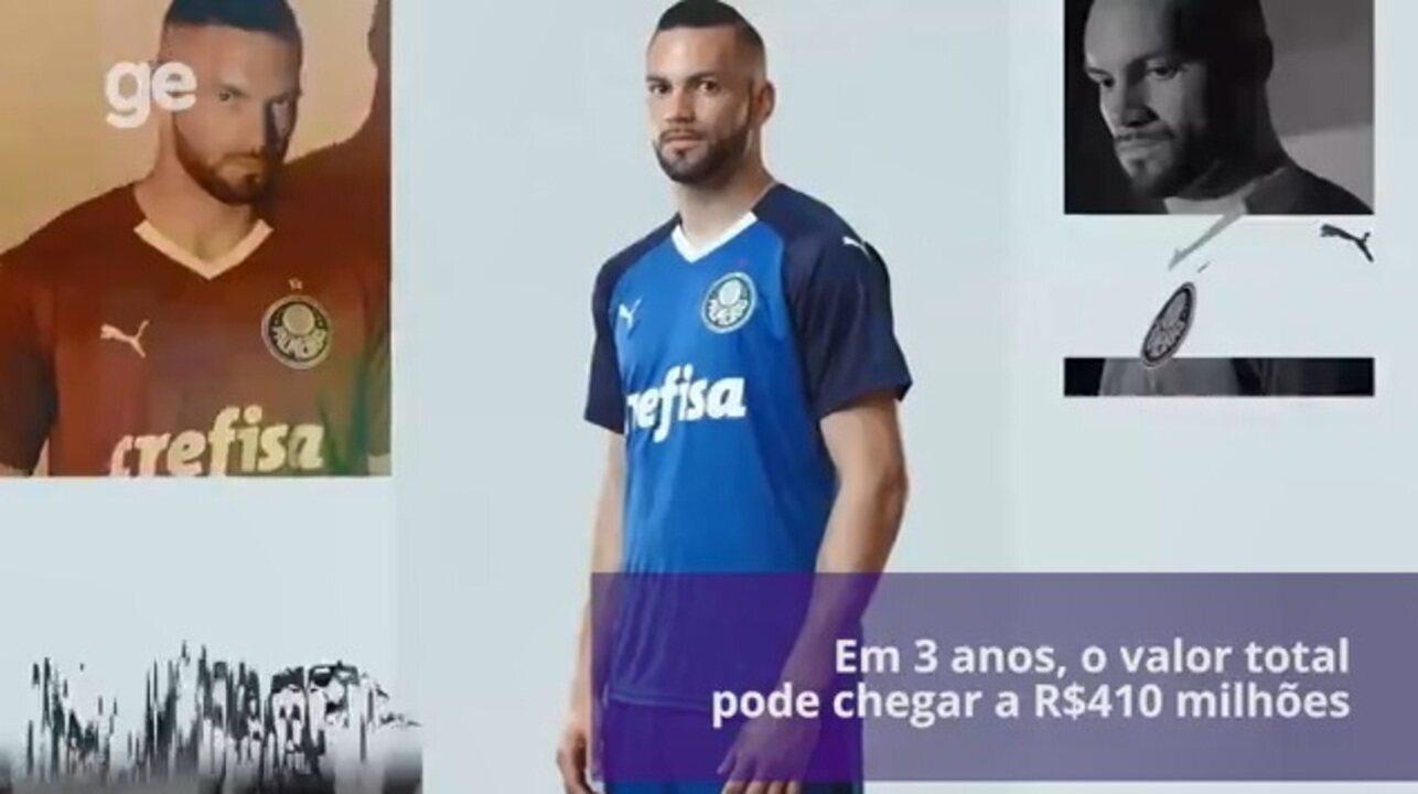 Palmeiras sobra no Brasil e atinge patamar europeu com patrocínio da ... 94ea746a800e3