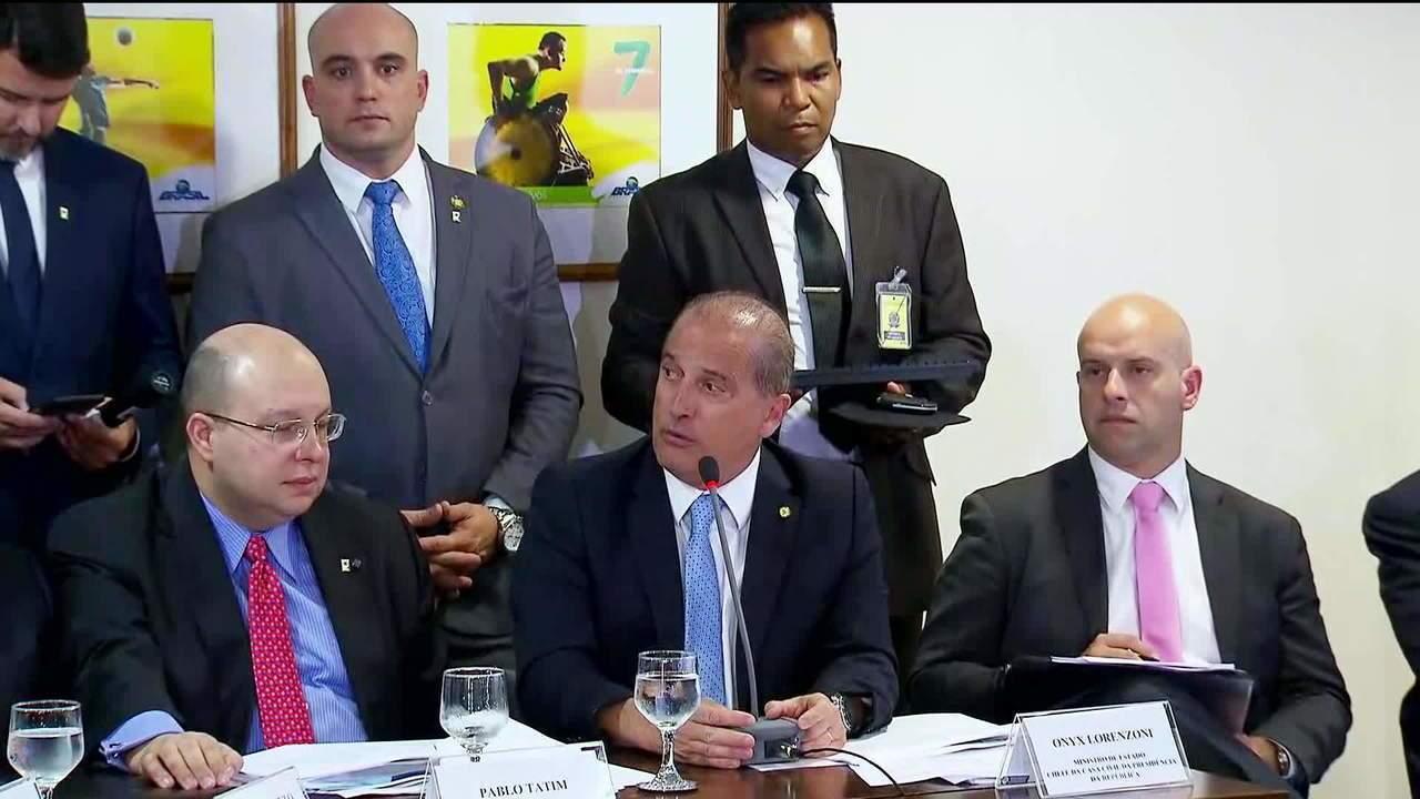 Ministro da Casa Civil anuncia metas para os 100 primeiros dias do governo