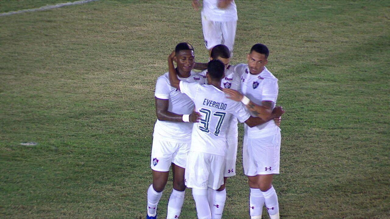 Os gols de Americano 0 x 4 Fluminense pela 2ª rodada do Campeonato Carioca 28c012c1c5782