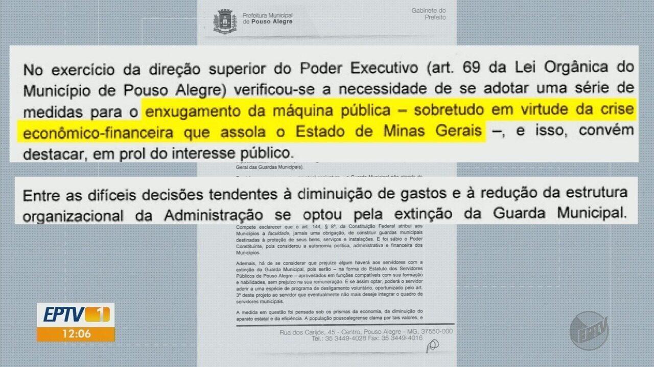 Câmara faz reunião para discutir projeto que extingue Guarda Municipal em Pouso Alegre