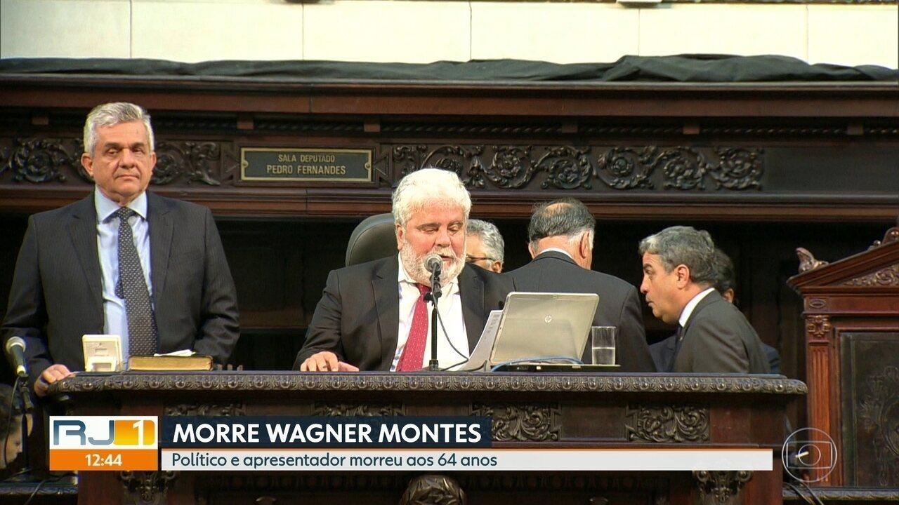 Político e apresentador Wagner Montes morre, no Rio, aos 64 anos