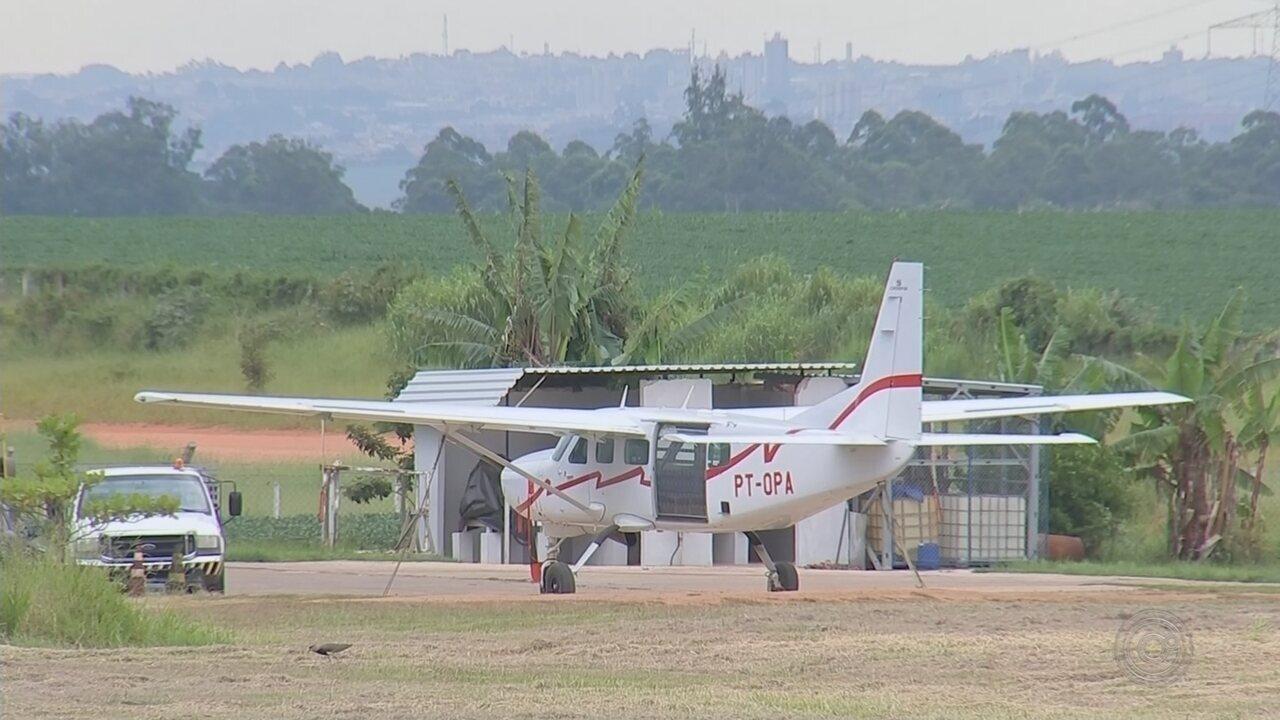 Mais de 70 acidentes foram registrados no Centro Nacional de Paraquedismo em 2 anos