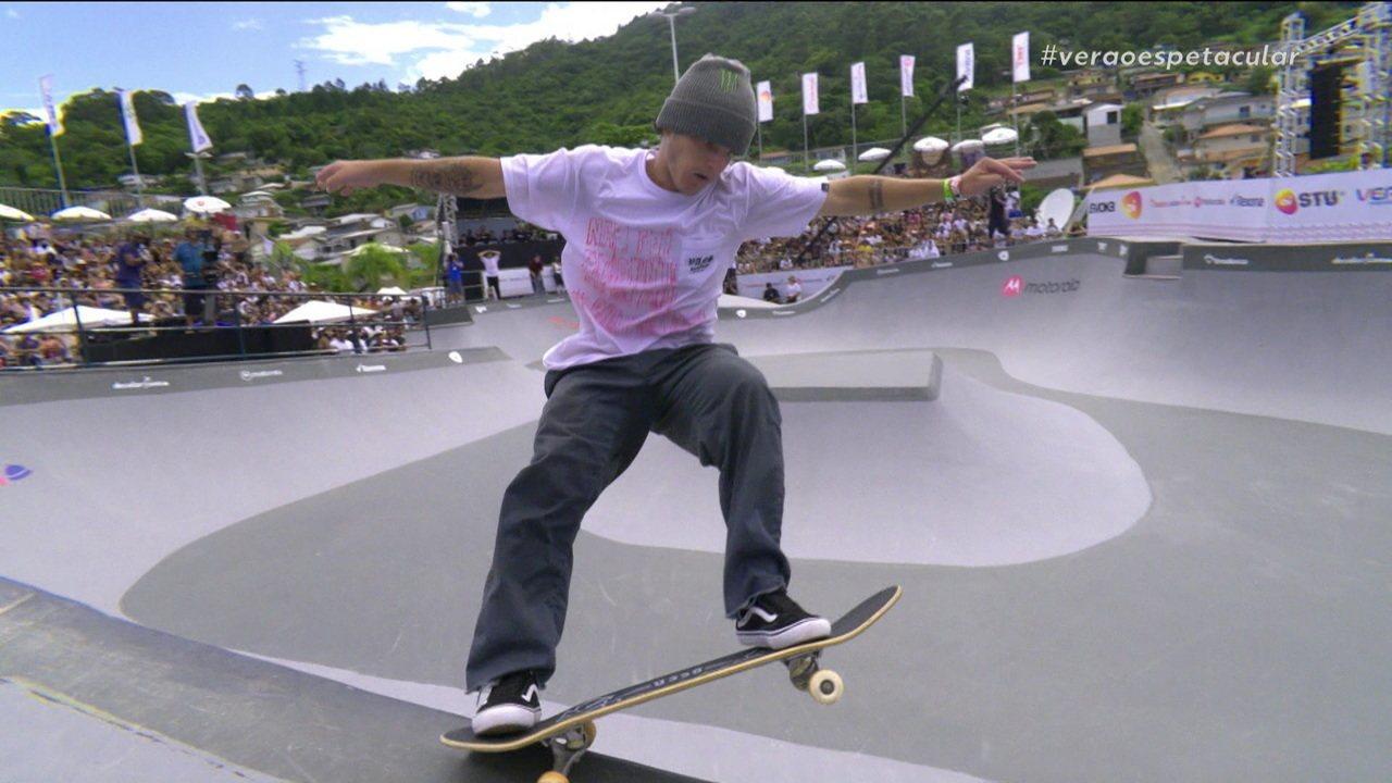 Vinicius Kakinho fica com o vice da etapa de Florianópolis do Circuito Brasileiro de Skate
