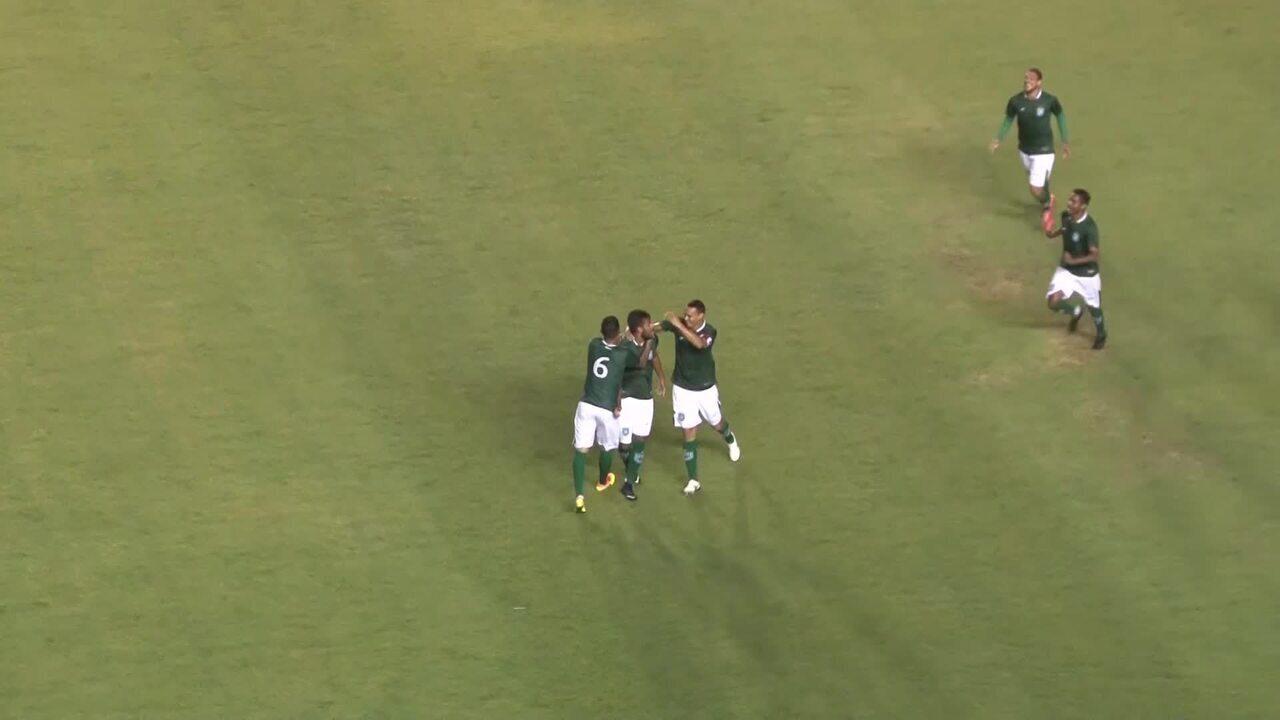 Gols de Gama 5 x 0 Bolamense, pela 1ª rodada do Candangão