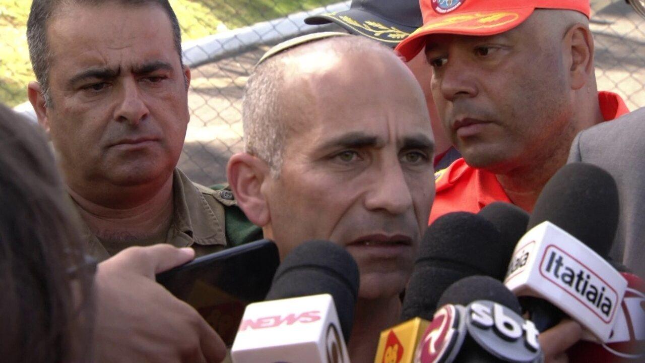 Coronel das forças de Israel fala sobre missão em Brumadinho