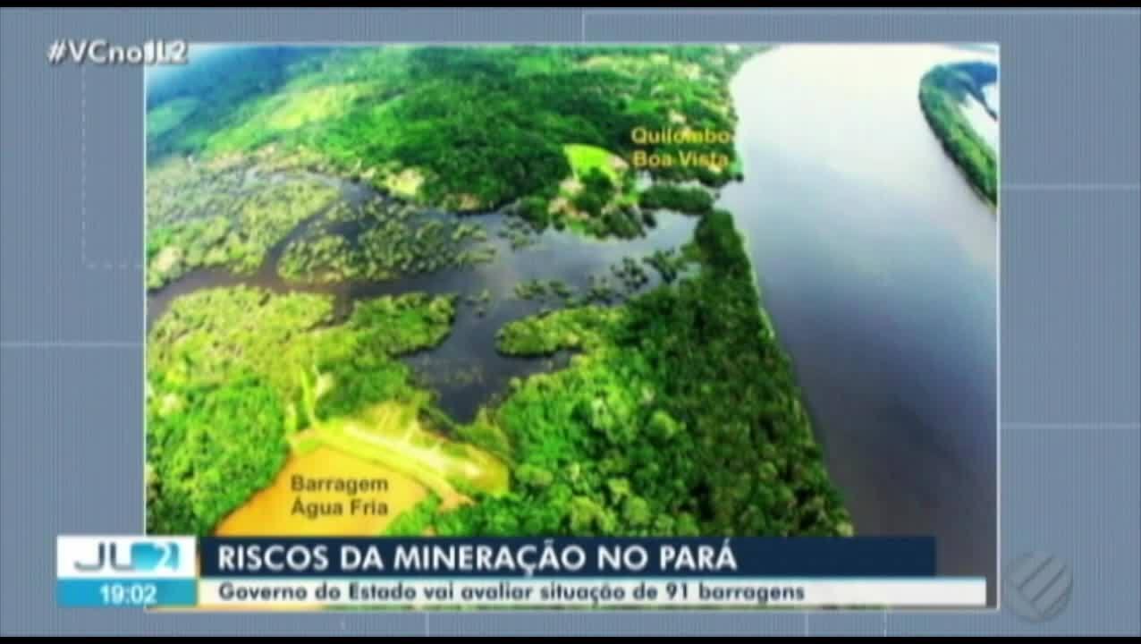Governo do PA cria grupo para analisar situação das mais de 90 barragens no estado